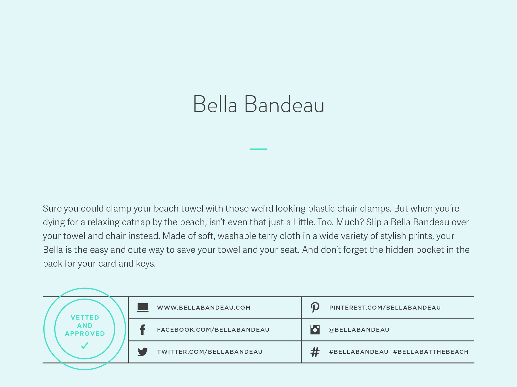 Bella Bandeau company naming process