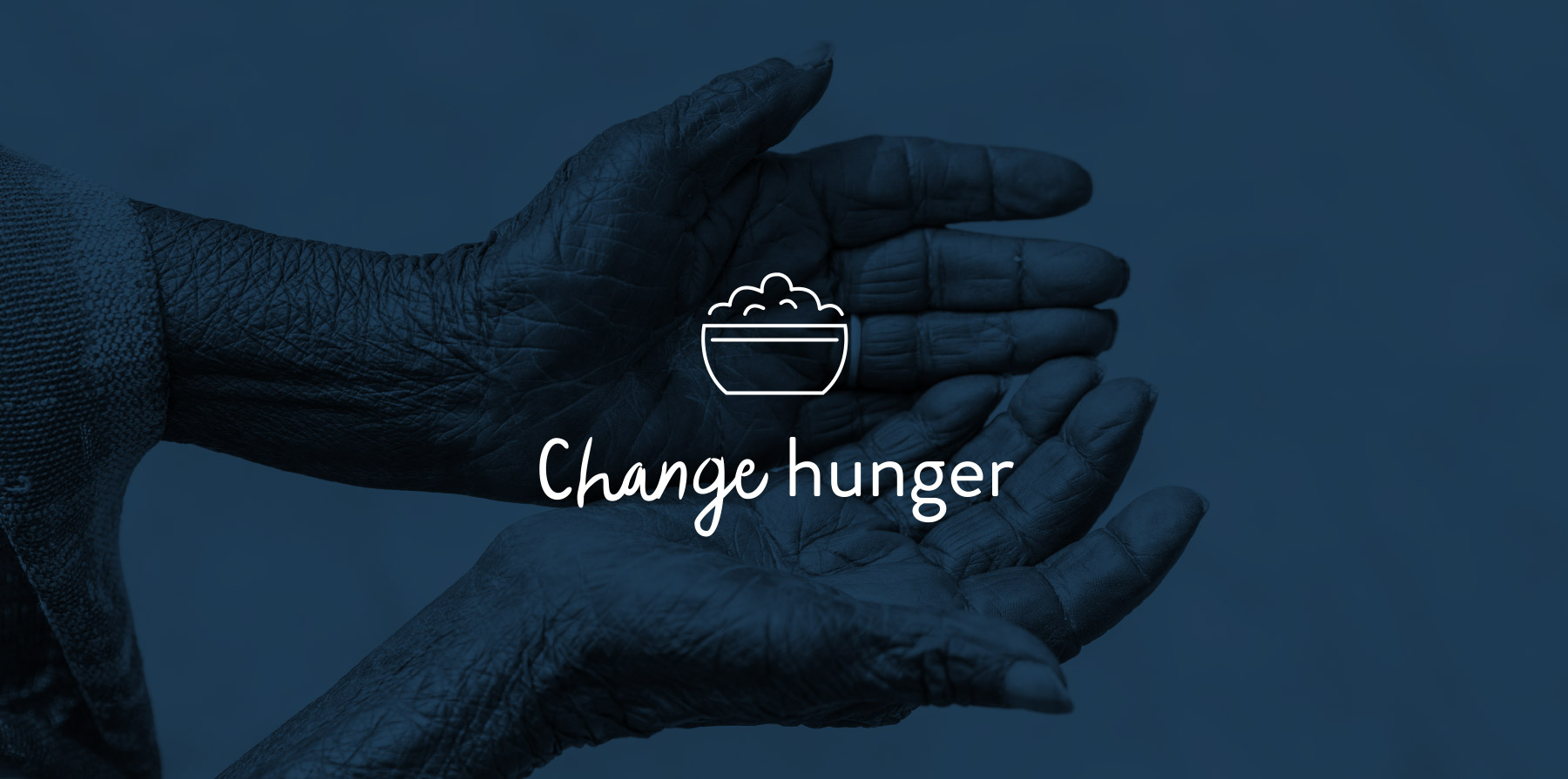 Change Hunger icon design