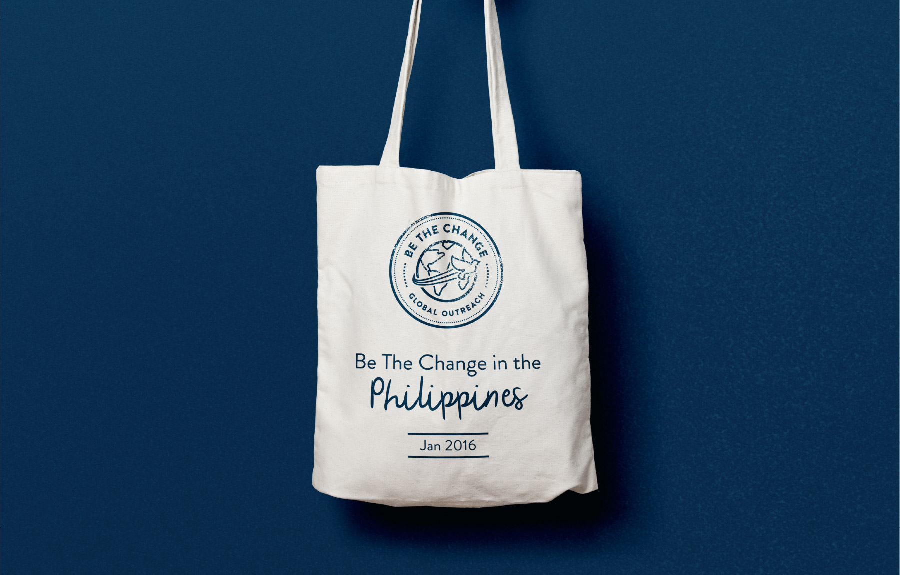 Philanthropy tote bag design
