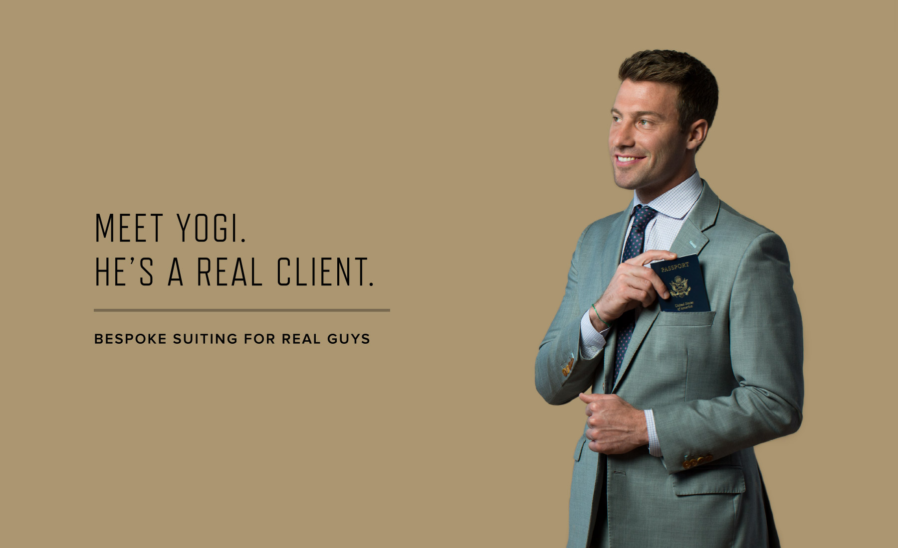 Bespoke suiting company for real guys