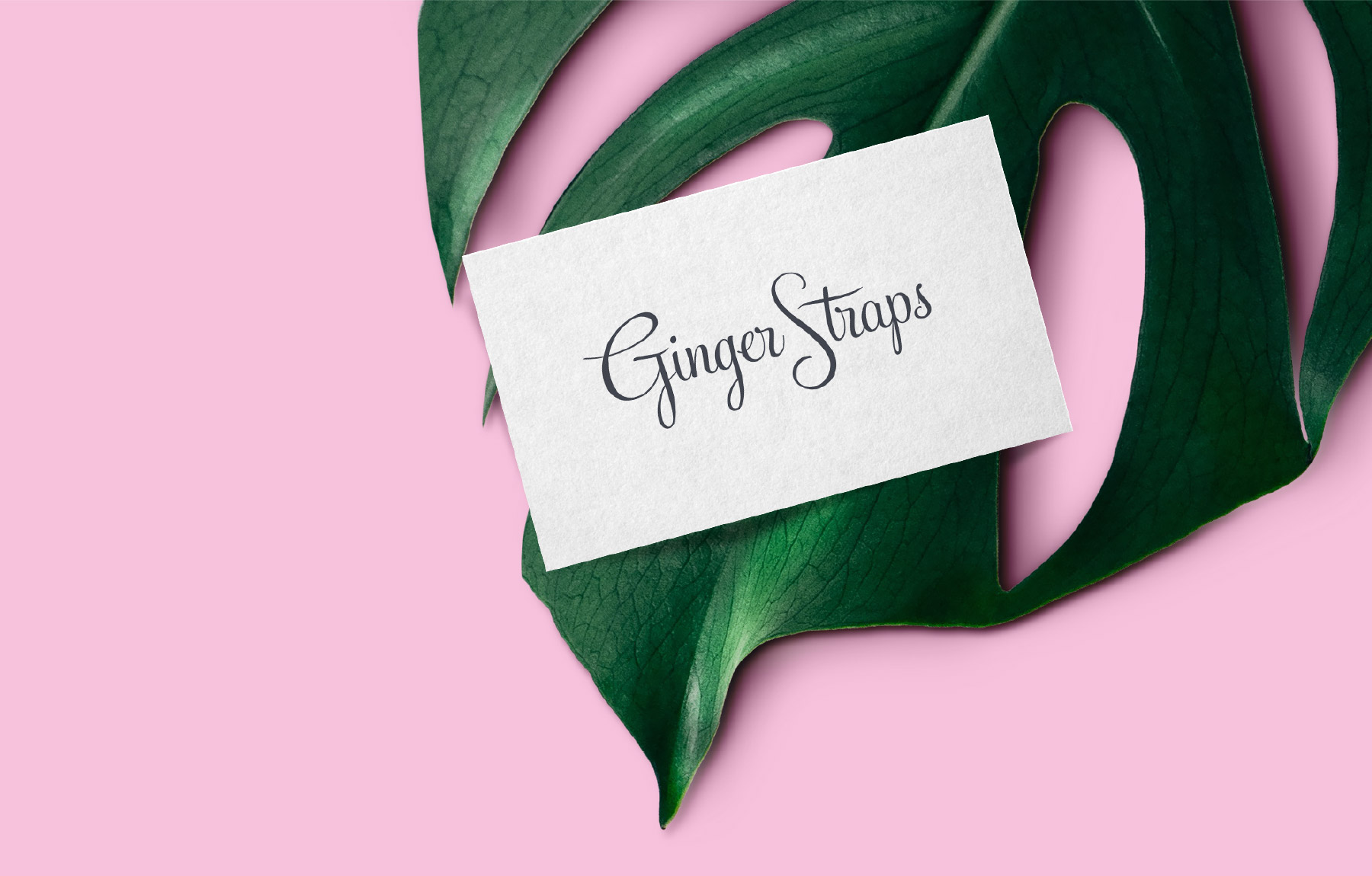 Chic fashion business card design