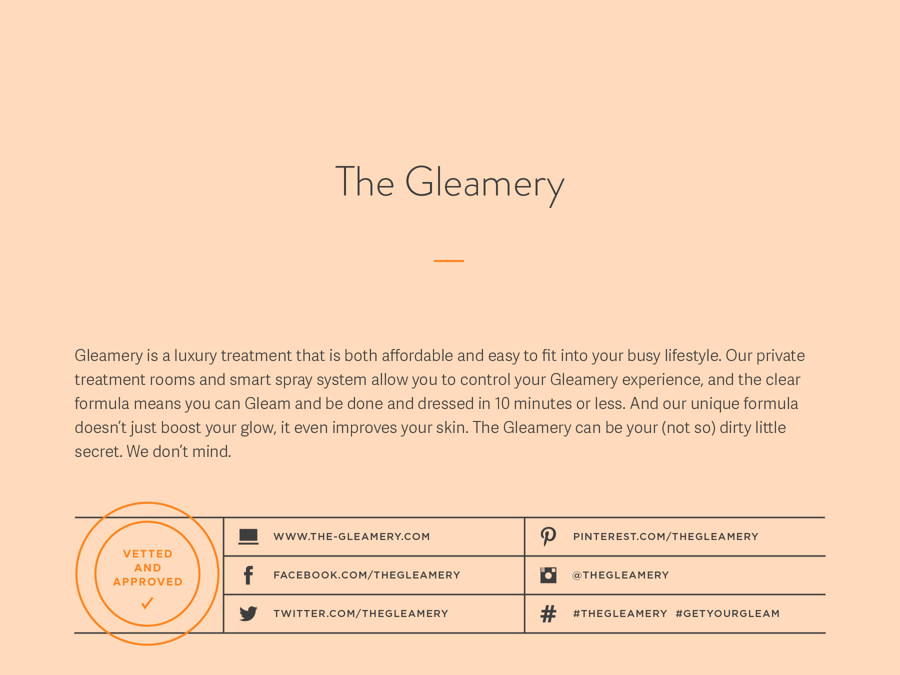 The Gleamery company naming process