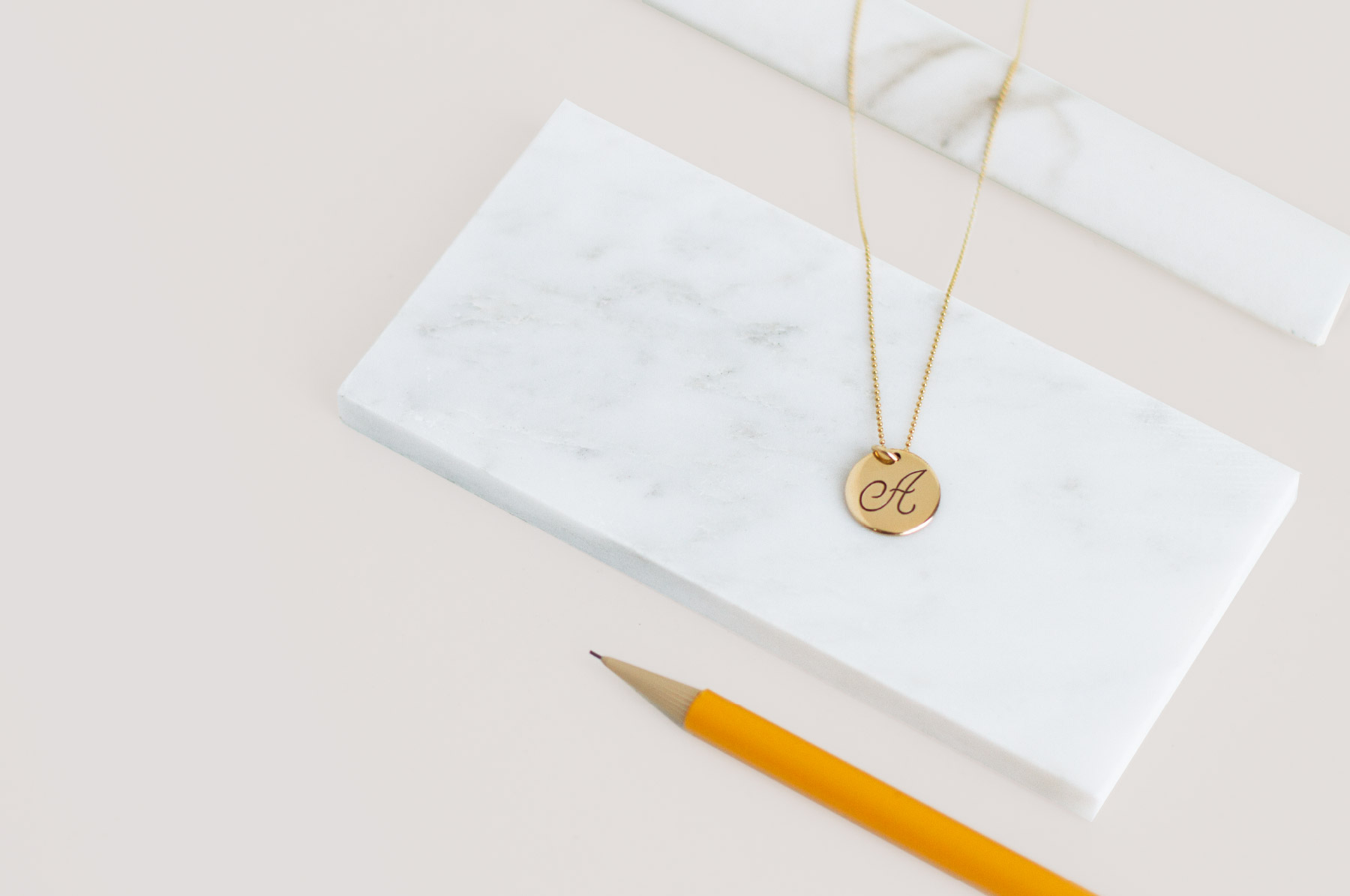 Fuze-Branding-Mommy-Jewelry-Customized-Jewerly-For-Mothers-Gold-Monogram-Necklace-Product-Photography