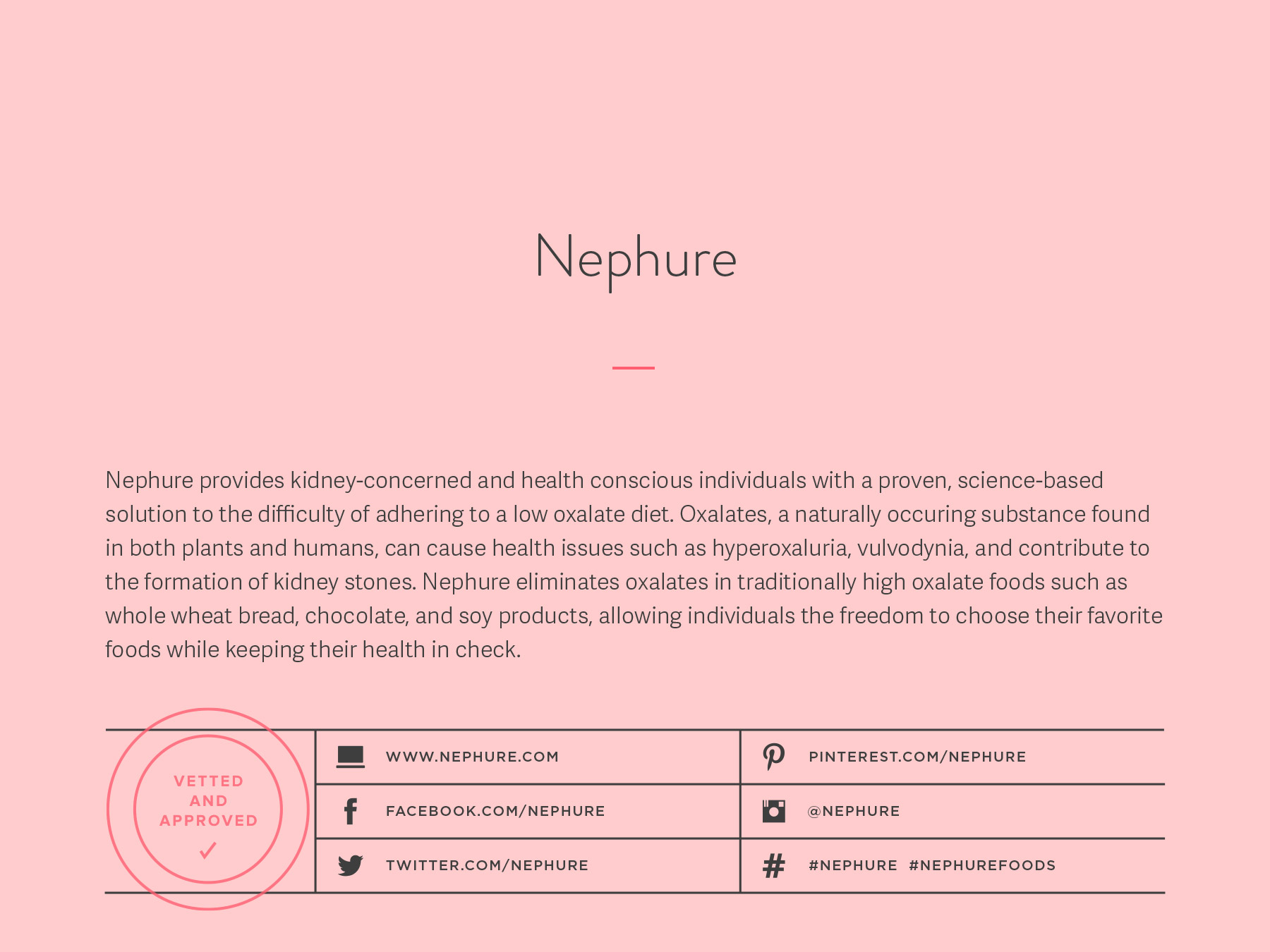 Nephure company naming process