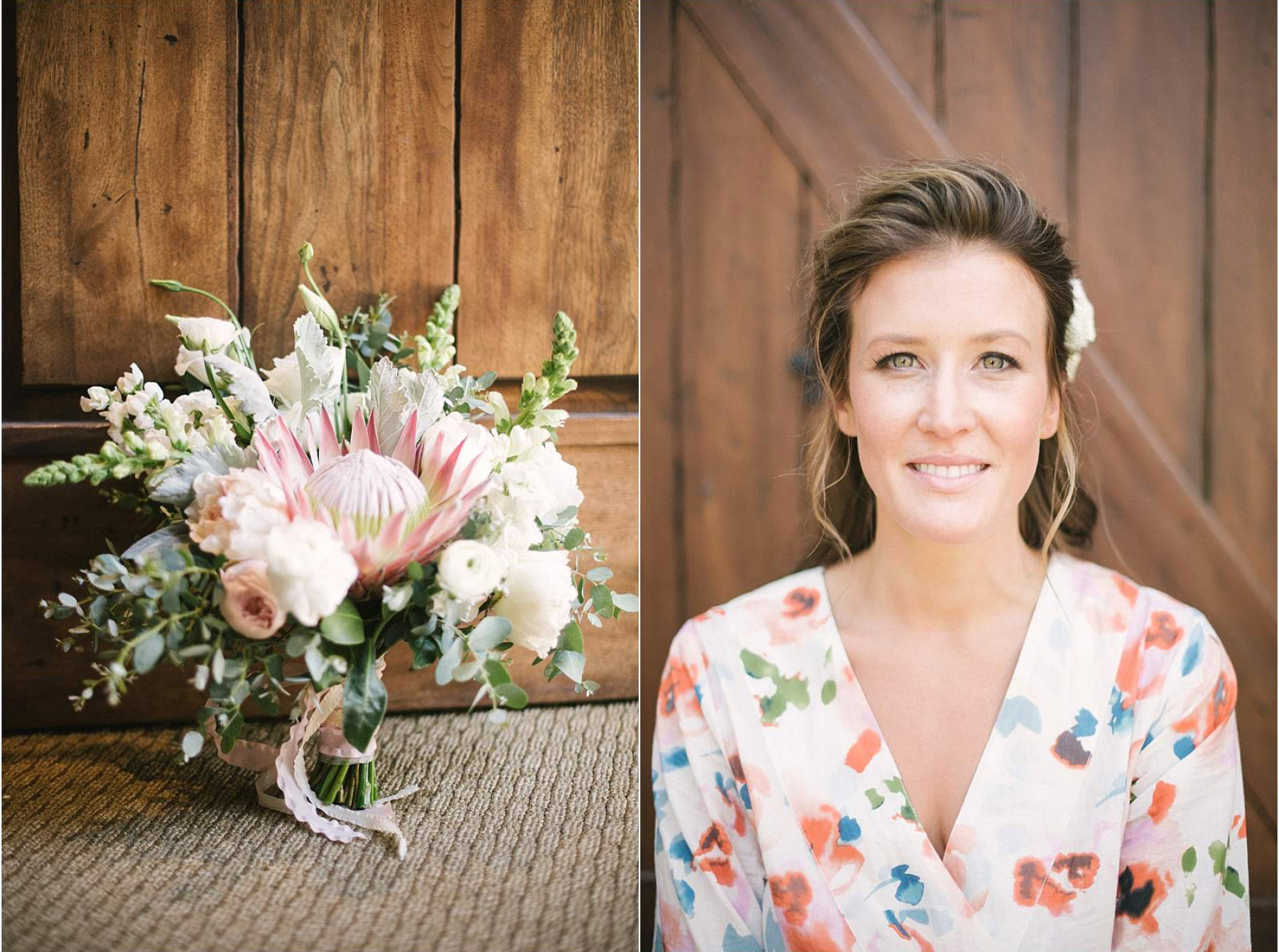 Beautiful bride and bouquet photograph