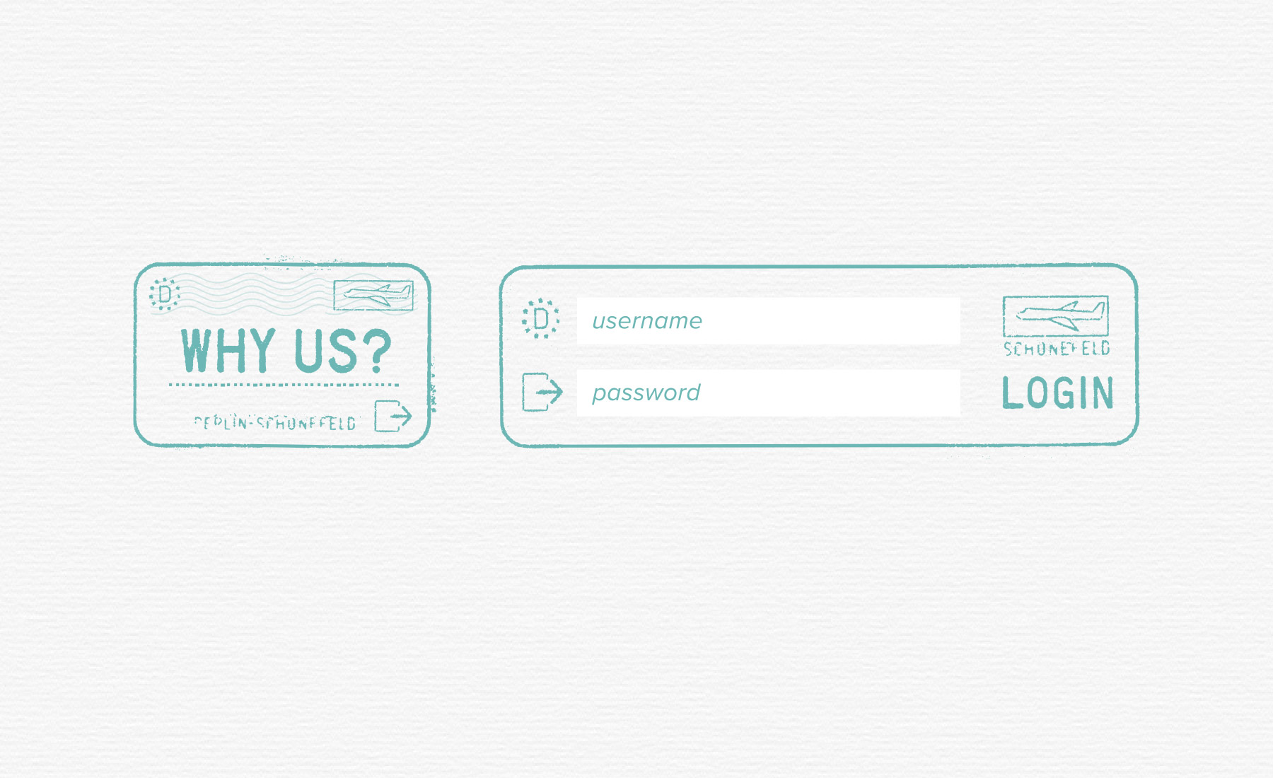 Photography client login form