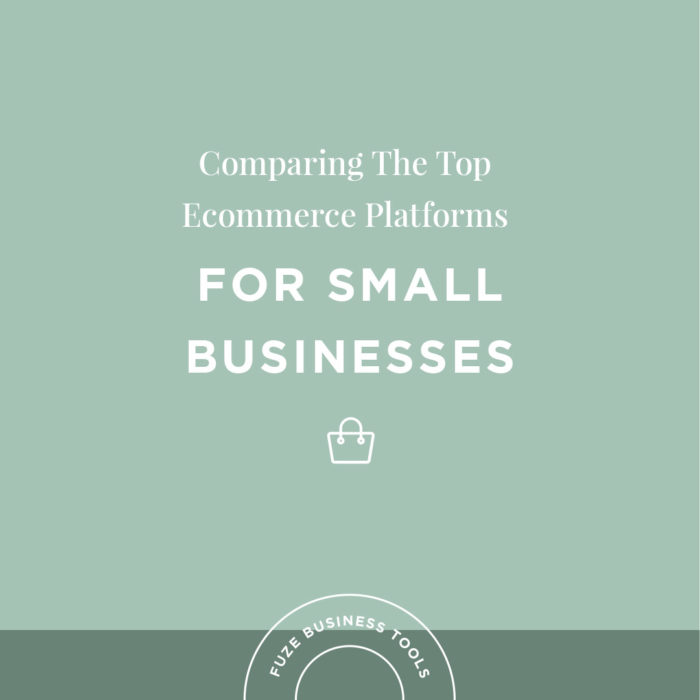 Small Business Tools | Comparing The Top Ecom Platforms
