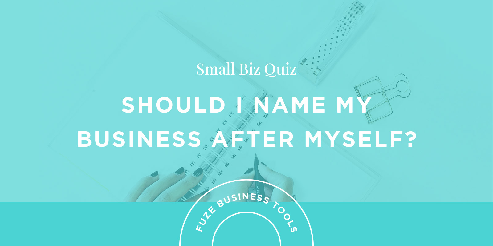 Small Business Naming Quiz