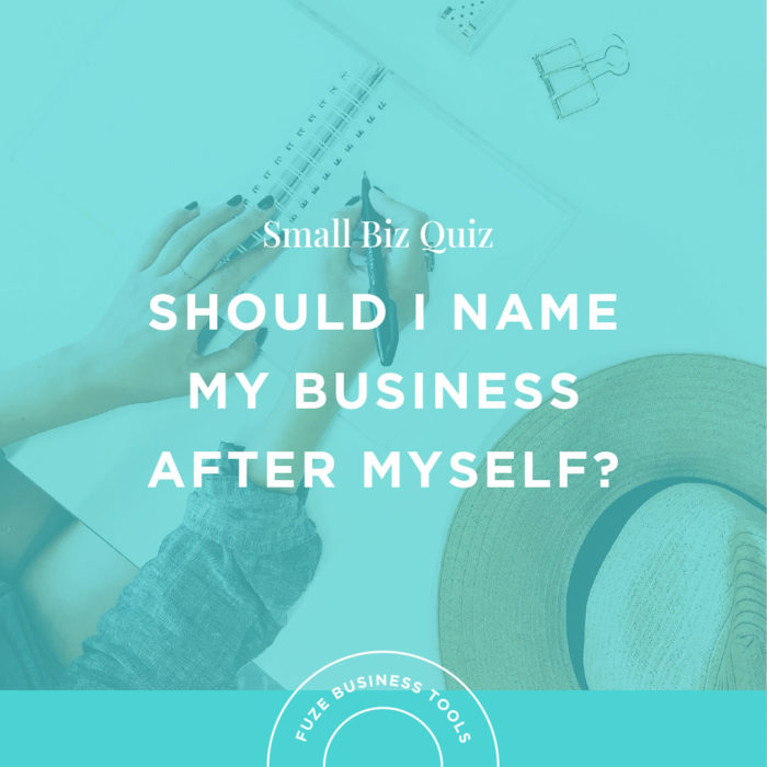 Small Business Naming Quiz for Entrepreneurs