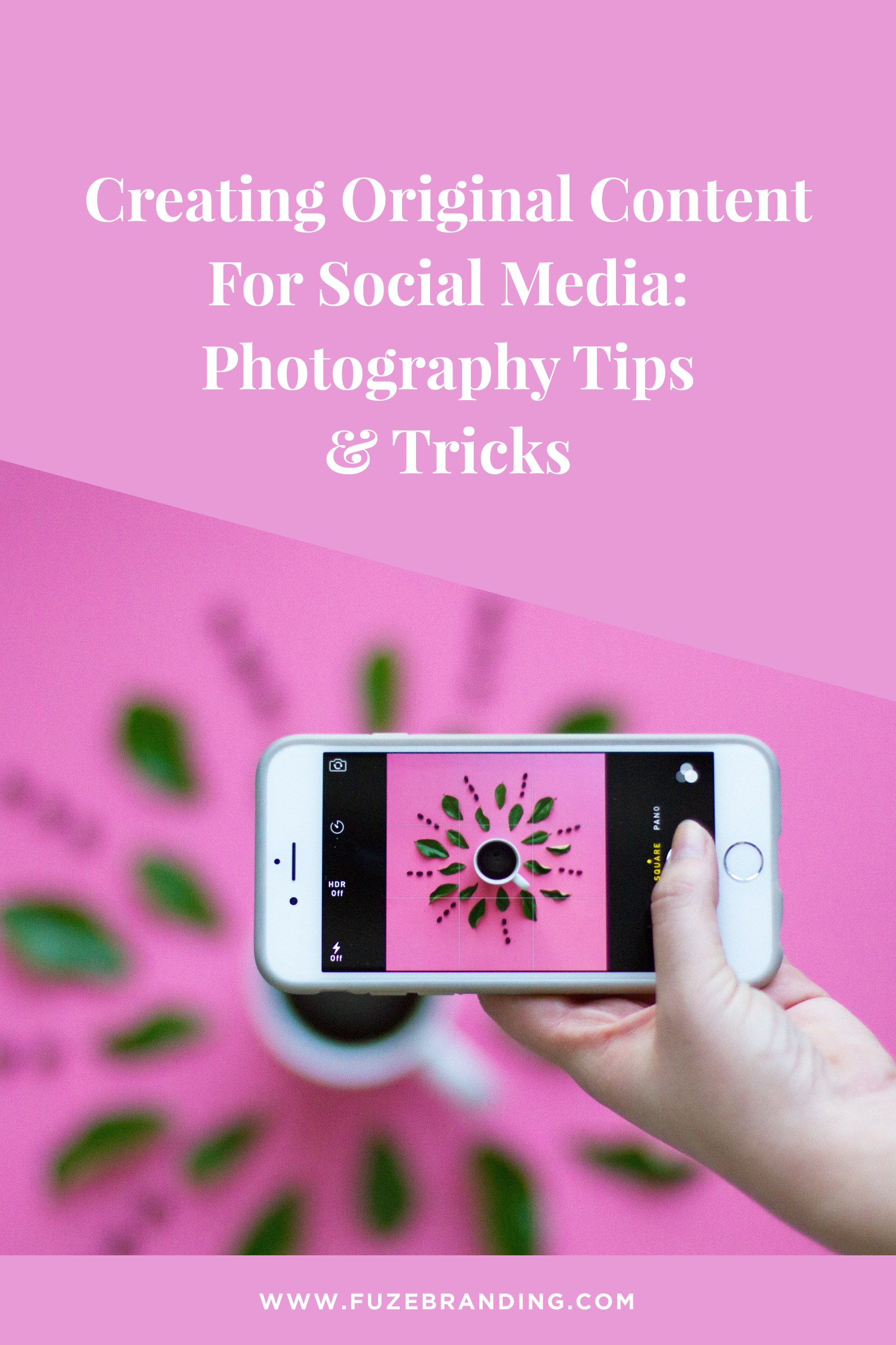 20 Amazing Photography Tips and Techniques